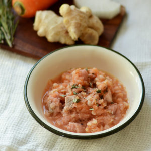 犬の手づくりごはんレシピ|サムゲタン風スープごはん