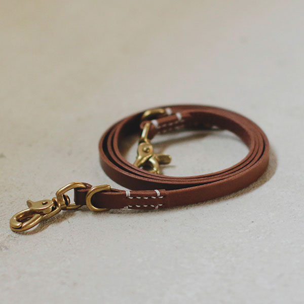 SMOOTH LEATHER LEASH - we original -