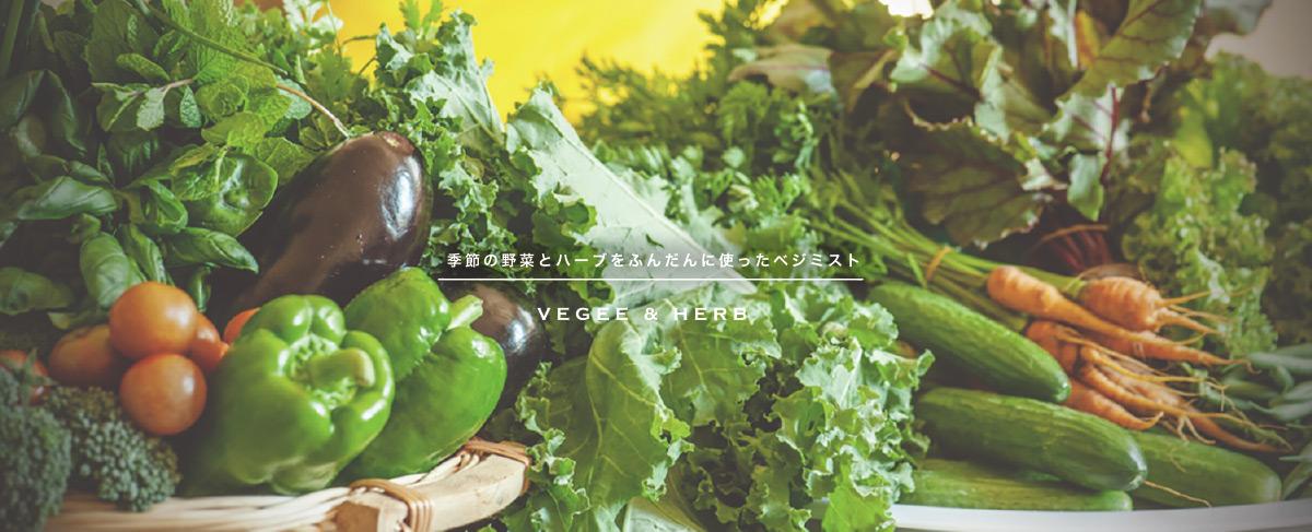 季節の野菜とハーブをふんだんに使ったベジミスト