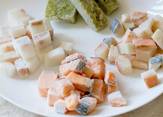 冷凍生魚シリーズ販売再開のお知らせ