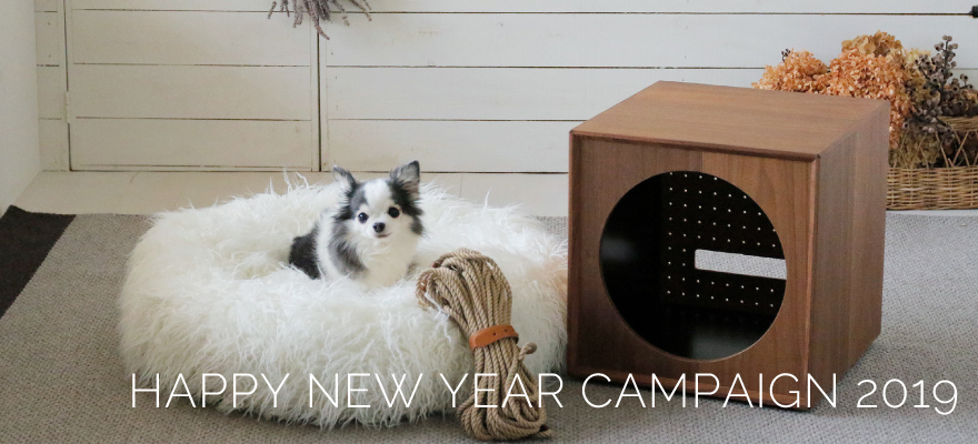 HAPPY NEW YEAR CAMPAIGN 2019抽選結果発表!