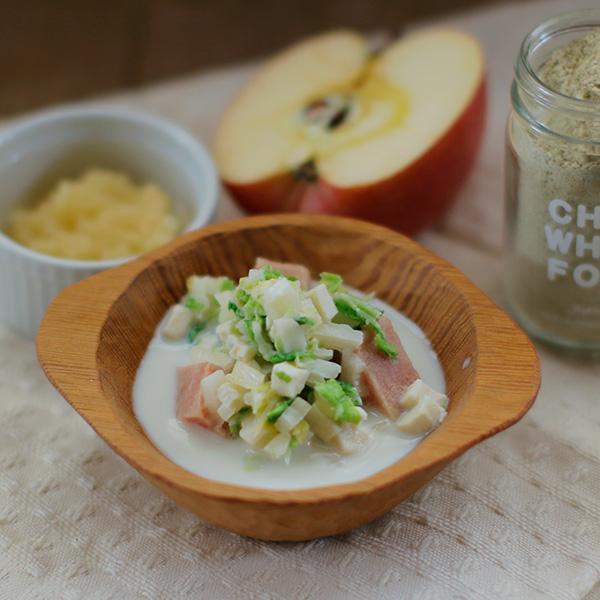 Today's Recipe/チキンと白菜のみるく煮込み