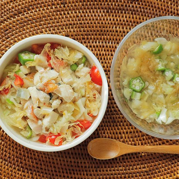 Today's Recipe/おさかなの冷や汁風ごはん