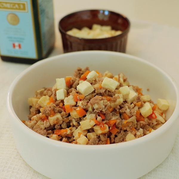 ラム肉のマーボー豆腐風ごはん