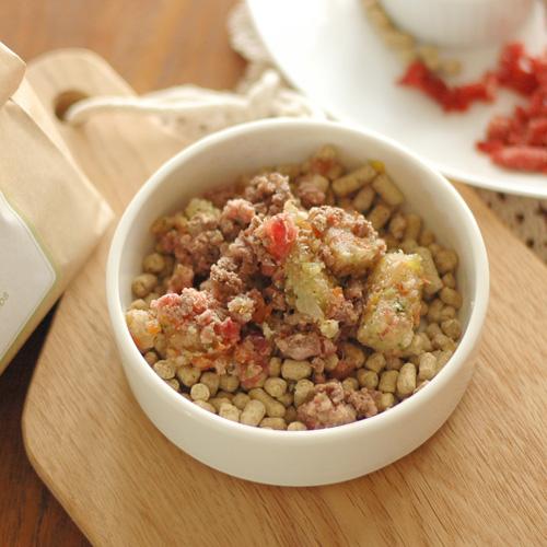 Today's Recipe/CHUPSフードと馬肉&ベジミスト