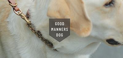 盲導犬センターライセンス製品GOOD MANNERS DOG SERIES