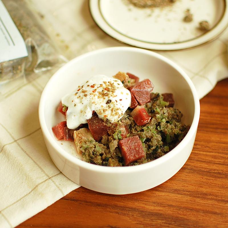 Today's Recipe/酵素&乳酸菌パワー!ヨーグルトを使った馬肉のレシピ