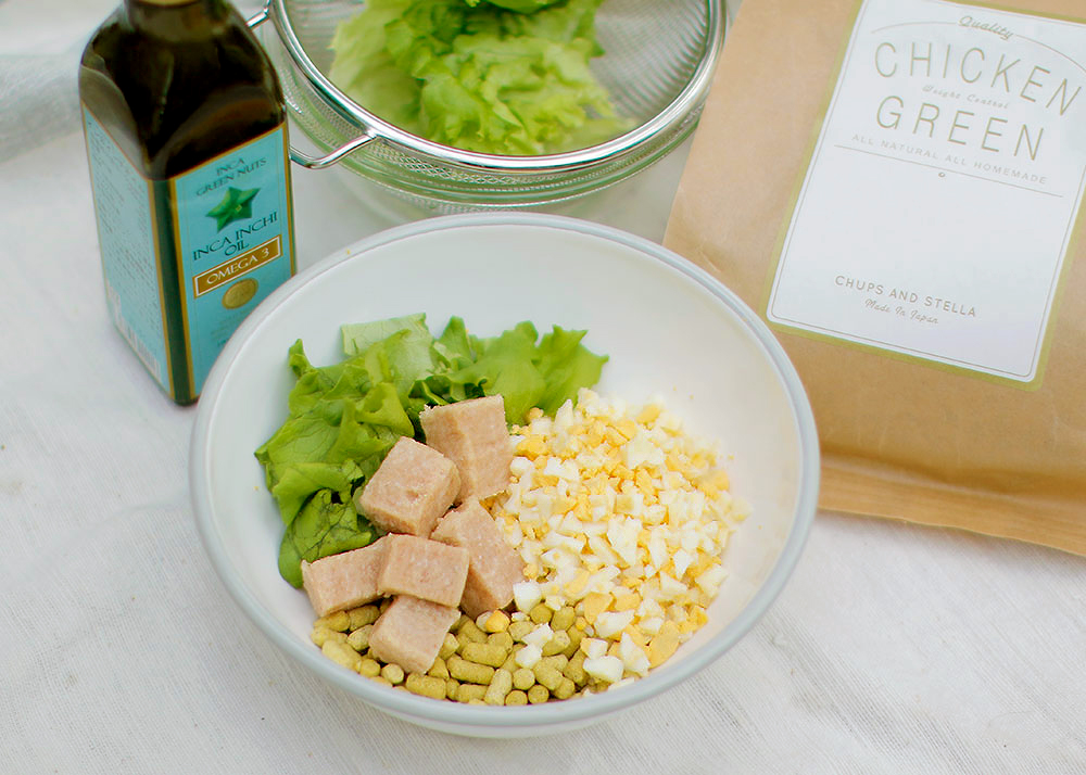 Today's Recipe/春のチキン&グリーンミモザサラダ