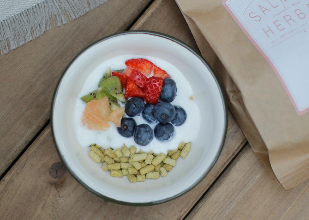 Today's Recipe/フレッシュフルーツのCHUPSシリアル朝ごはん