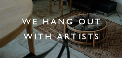 WE HANG OUT WITH ARTIST vol.5 くろねこくろべぇとものづくりの日々 WEND FURNITURE