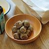 馬肉とベジミストのミートボールレシピ