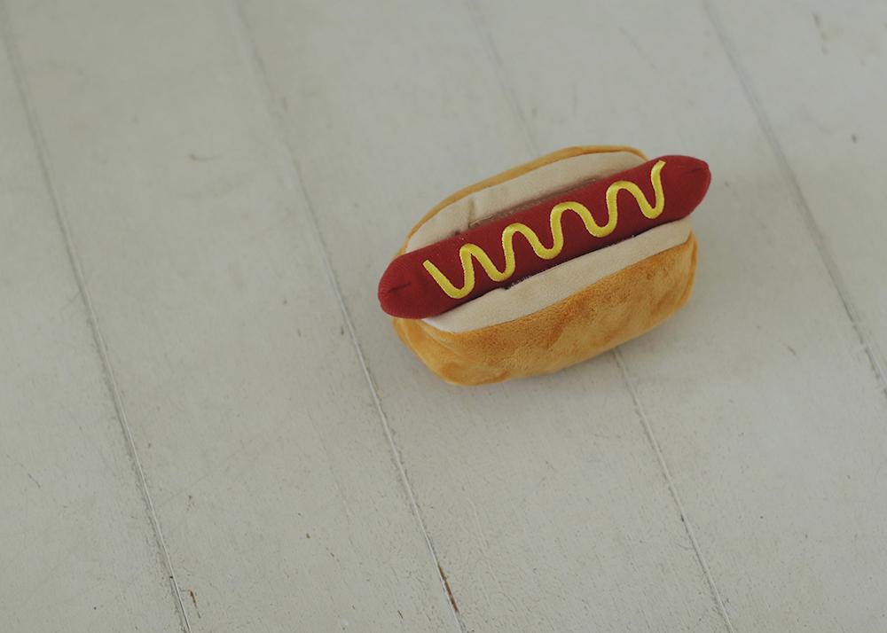 犬のおもちゃ ホットドッグ