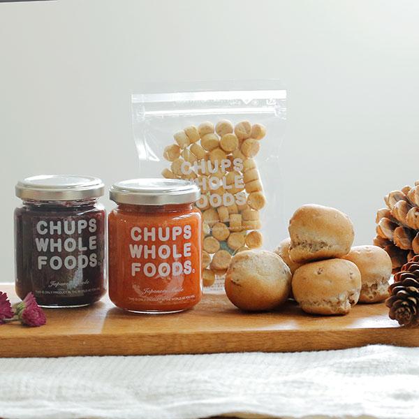 犬用手作り食|[12月22・23日お届け]パンとジャムのおいしいギフトセット for dogs