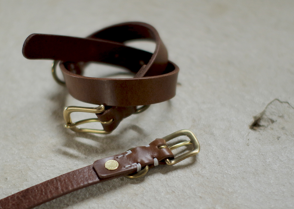 犬の首環 | レザー |  SMOOTH LEATHER COLLAR - we original -